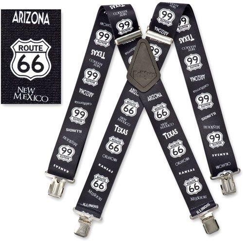 Homme 50mm (5,1cm) de large Brimarc Bretelles de pantalon de travail Heavy Duty American Route 66