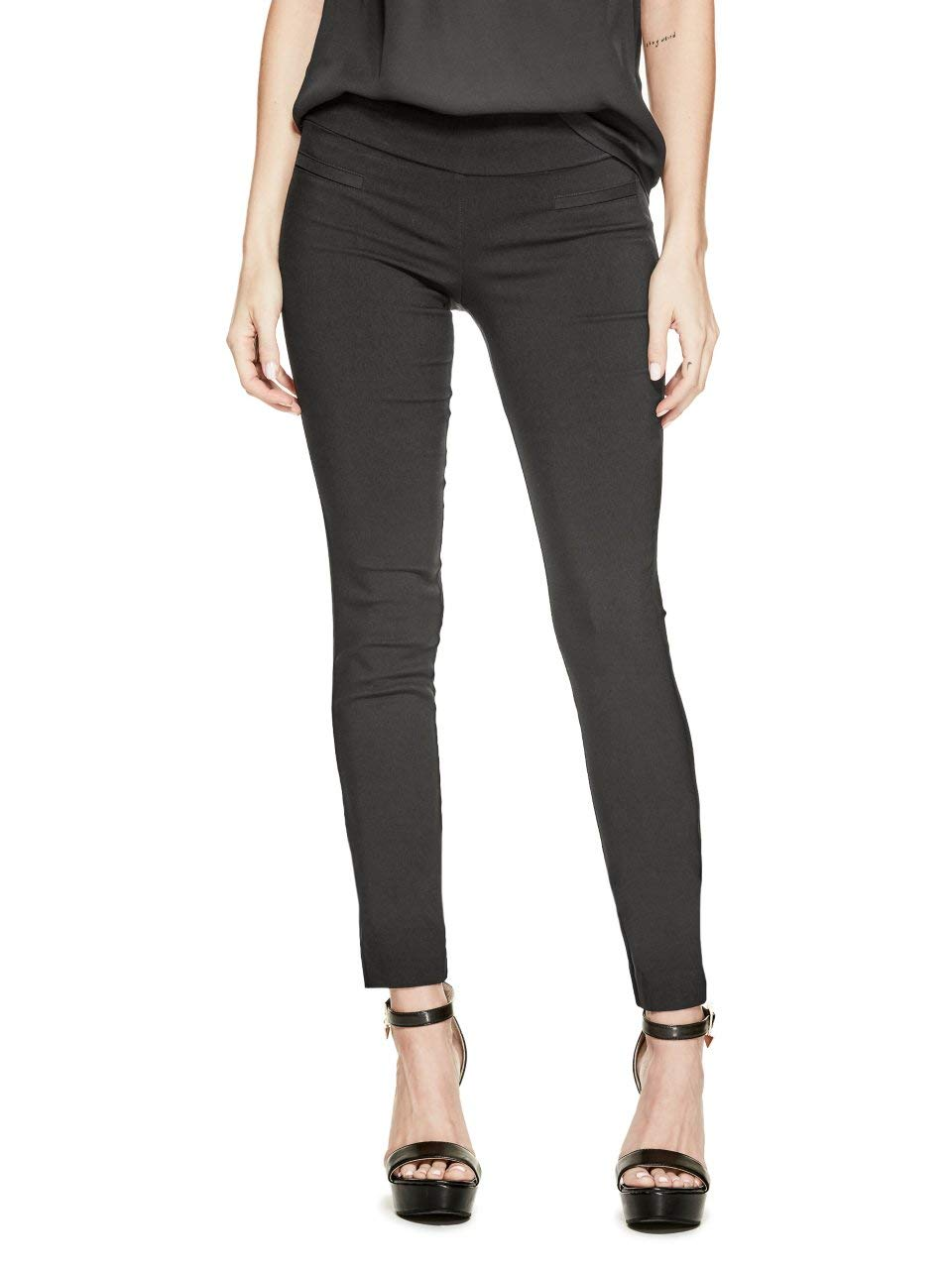 GUESS Factory Women's Beatrix Super-Stretch Pants by GUESS Factory
