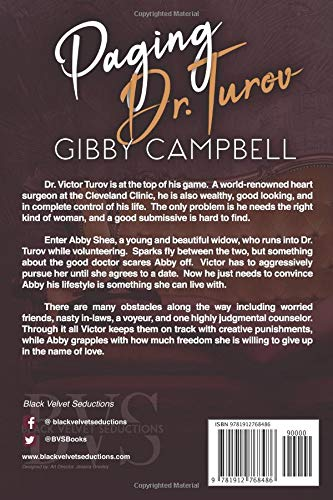 Amazon com: Paging Dr  Turov (9781912768486): Gibby Campbell