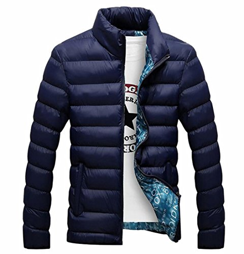 Generic Casual Puffer Stand Down 1 Men's Warm Collar Coats vvZfnq