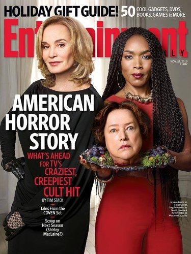 Entertainment Weekly (Nov 29, 2013) American Horror Story (Jessica Lange, Angela - Jessica Ahs Lange