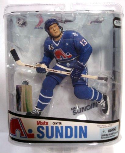 McFarlane Toys NHL Sports Picks Series 18 Action Figure Mats Sundin (Quebec - Quebec Nhl Nordiques