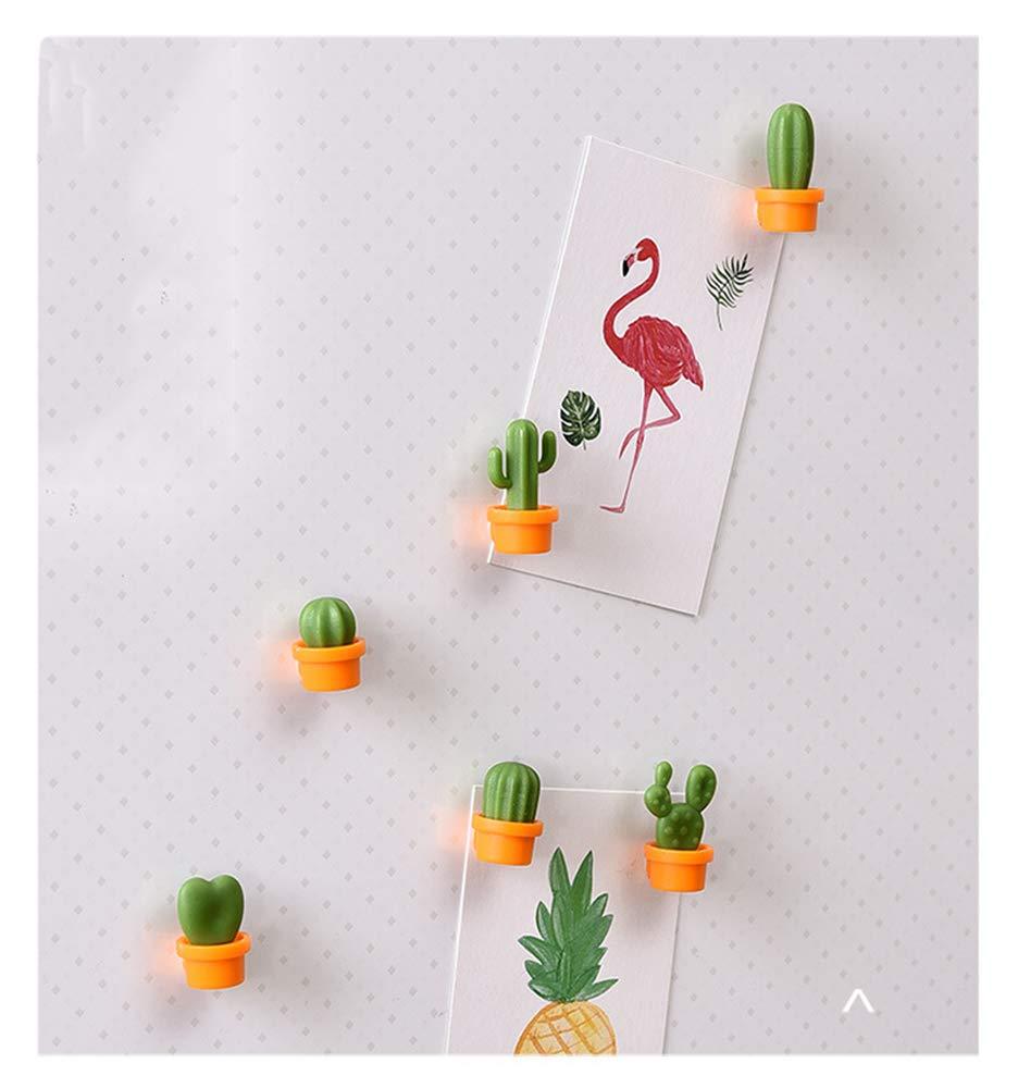12 Pcs Cute Mini Cactus Refrigerator Magnets,Decorative Fridge Magnet Locker Magnet,Dry Erase Board Magnet,Perfect Fridge Magnets for House Office Personal Use
