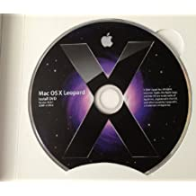 Apple Mac OS X 10.5.4 Leopard Full Install DVD