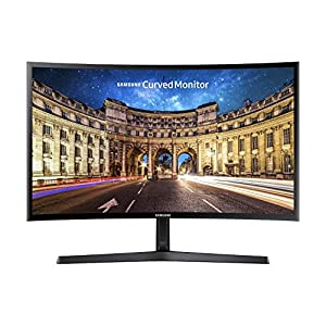 "Samsung C24F396FHU, Ecran PC Incurvé, Dalle VA 24"", Résolution Full HD (1920 x 1080), 60 Hz , 4ms, AMD FreeSync, Noir…"