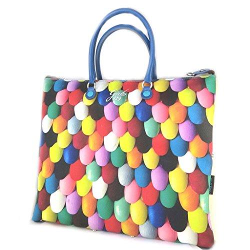 3 en 1 bolso 'Gabs'multicolor (uñas pintadas)(l)- 43x37x2.5 cm.