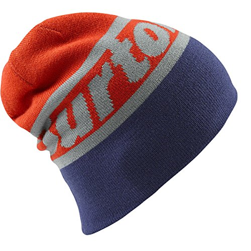 Burton Marquee Reversible Beanie - Boys' Deep Sea, One Size ()
