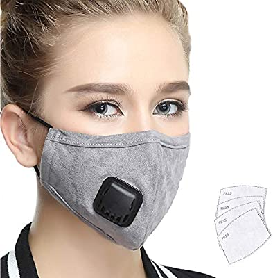 Pollution Mouth Washable Cotton N99 Filter Filters Anti Grade Replaceable 4 Mask one Lyanty With Military Masks Valve