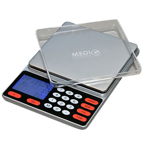 The Gold Scale - 2000x0.1g Professional Gold Price Calculating Scale