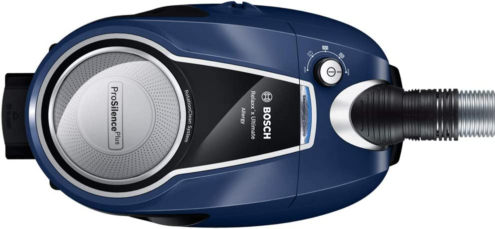 pl/ástico Color Azul Oscuro y Plateado Bosch Relaxxx ProFamily Aspiradora sin Bolsa
