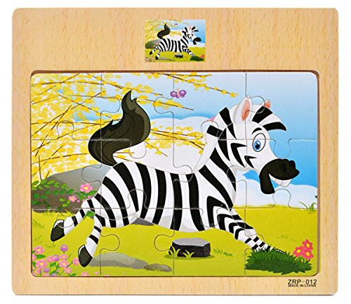 Review Wooden Puzzle,❧Layhome 1PC Jigsaw