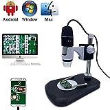 USB Digital Microscope Camera, Jiusion 40 -1000X Portable Magnification Endoscope 2 Million Pixels