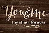 Cheap You & Me Together Forever 25 x 36 Wood Pallet Wall Art Sign Plaque