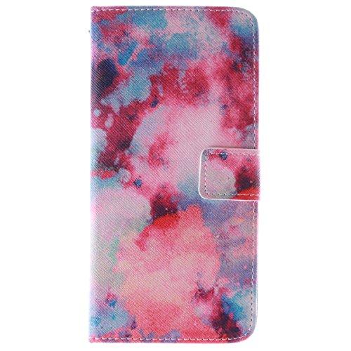 """MOONCASE iPhone 6 Case Magnetverschluss Leder Tasche Flip Case Cover Mit Standfunktion Kartenfächer Schutzhülle Etui Hülle Schale für iPhone 6 (4.7"""") -TX10"""
