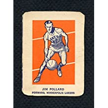1952 Wheaties Jim Pollard Lakers Action EX 286013 Kit Young Cards