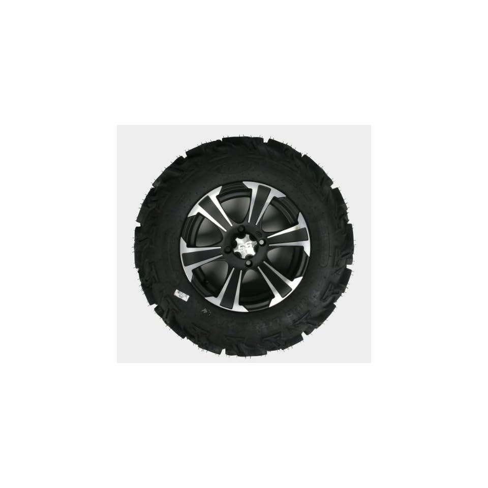 ITP Mud Lite XTR, SS312, Tire/Wheel Kit   27x9Rx14   Matte Black/Machined 44281L