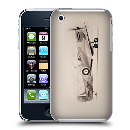 Officiel Graham Bradshaw Avion Illustrations Étui Coque D'Arrière Rigide Pour Apple iPhone 3G / 3GS