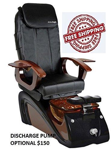Shiatsulogic Pedicure Spa ALESSI 5103 NO PUMP BLACK MOCHA Pedicure Chair By  MAYAKOBA