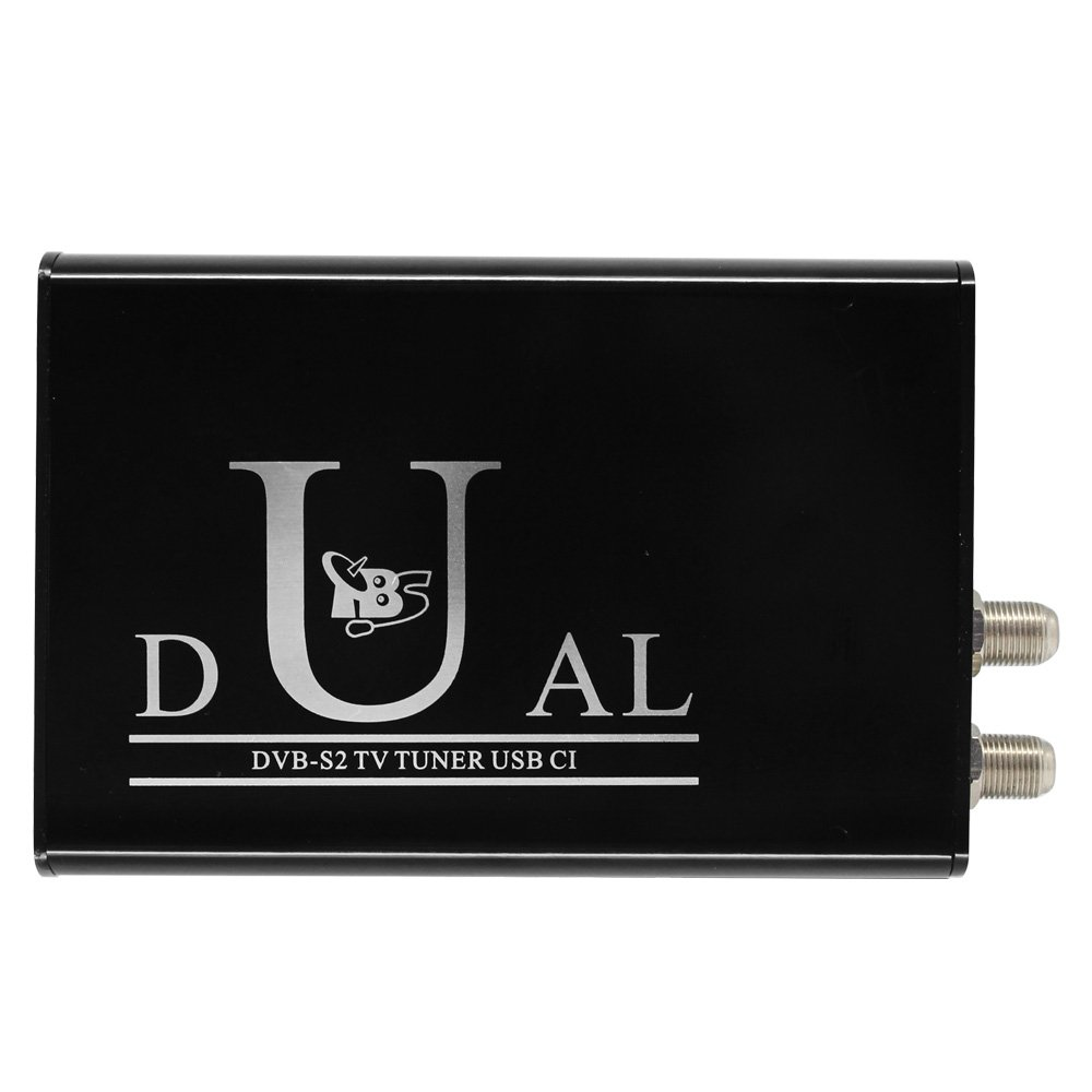 TBS 5990 DVB-S2 Dual Tuner Dual CI Digital TV Tuner USB Box for Live TV/ Window/ Linux/ HTPC/ IPTV Server