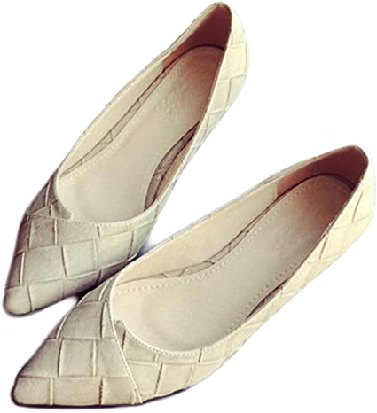 August Jim Women's Flats Shoes,Pointed