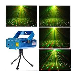 Amazon Com Laser Projector Stage Lights Mini Led R Amp G