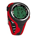 Mares Smart Wrist Dive Computer, Black/Red