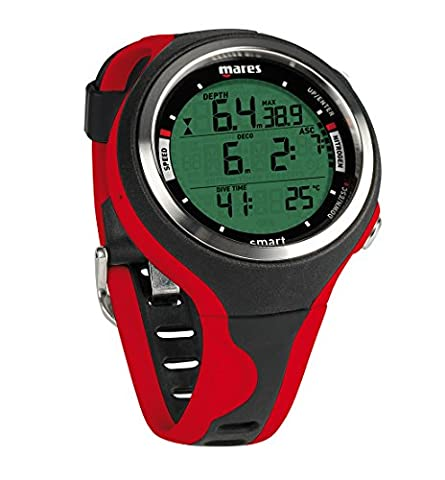 Mares Smart Wrist Dive Computer, Black/Red - Dive Computer Discount