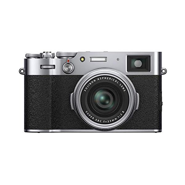 "RetinaPix Fujifilm X100V 26.1 MP Mirrorless Camera with Fixed f23mmF2 Lens (APS-C X-Trans CMOS 4 Sensor, X-Processor 4, Hybrid Viewfinder, 3"" Tilt Touchscreen, Face/Eye Detection AF, Film Simulations) - Silver"