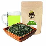 English Tea Store Loose Leaf, Gyokuro Japanese Green Tea Pouches - 4oz, 4 Ounce