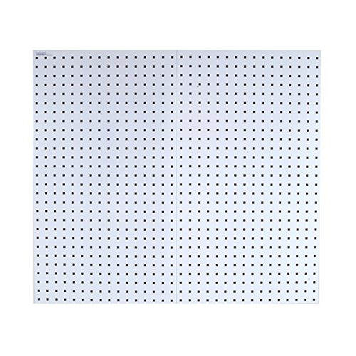 - Triton Products LB2-W LocBoard 24x42-1/2x9/16-Inch Pegboards, White, 2-Pack