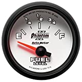 Auto Meter 7516 Phantom II Short Sweep Electric Fuel Level Gauge