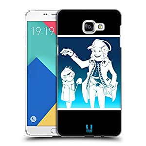 Head Case Designs Jack Frost Mix Christmas Collection Hard Back Case for Samsung Galaxy A9 (2016)
