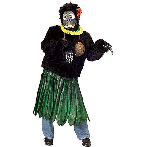 Aloha Gorilla Costume - Standard - Chest Size 40-44