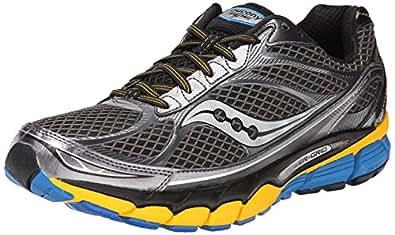 Saucony Ride 7 - Zapatos para Hombre, Color Yellow/Blue, Talla 42