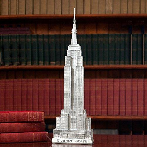 Empire State Building Statue 20 Inch 80th Anniversary Scaled Replica