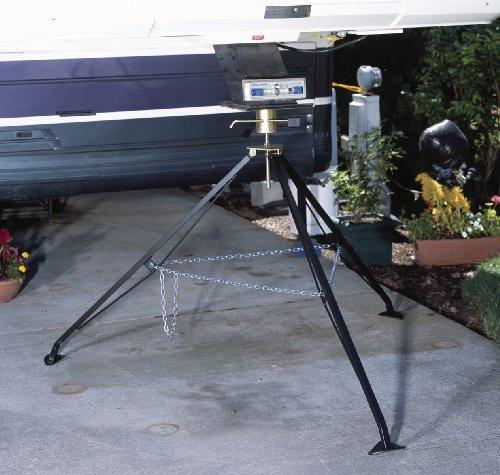 Fifth Wheel Stabilizer : Husky adjustable locking fifth wheel stabilizer
