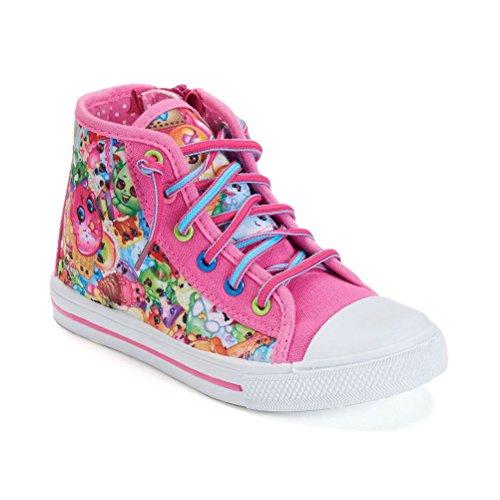 Shopkins High Top Fashion Sneakers Zip Up ...