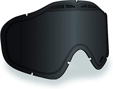 509 Sinister X6 Snow Snowmobiling Goggles Black Ice Photochromatic Clear Lens