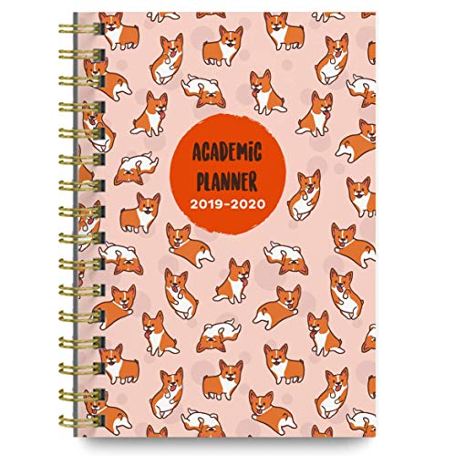 Planners 2019-2020 Academic Year Day Planner Calendar Book - Weekly/Monthly Dated Agenda Organizer - (June 2019 - July 2020) - 6.25