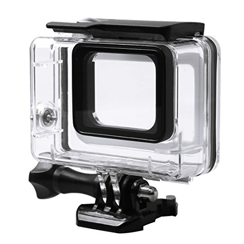 AQcameracell fit for 45m Waterproof Housing Protective Case with Buckle Basic Mount & Screw for GoPro HERO6 Black / HERO5 Black / HERO7 Black