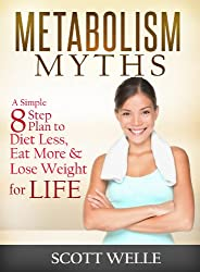Metabolism Myths: A Simple 8 Step Plan to Diet Less, Eat More & Lose Weight for LIFE (Create LEAN Series Book 2)