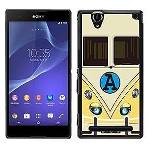 Dragon Case - FOR Sony Xperia T2 Ultra - Life is like a play - Caja protectora de pl??stico duro de la cubierta Dise?¡Ào Slim Fit