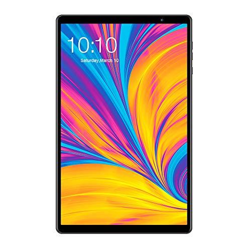 🥇 TECLAST Tablet PC P10HD 10.1'' FHD 1920×1200 IPS 2.5D Pantalla Táctil de Arco 8 núcleos A55 AI 3GB+32GB GPS 4G Android 9.0 7mm Lado Estrecho HD Cámara Dual 6000mAh Bluetooth 5.0 AC Danda Dual WiFi