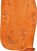 Radical Leather Piel, Correas de Piel, tama/ño de Piel y Funda de Cuero Color marr/ón Sill/ín de Piel para Caballos Occidentales