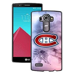 Diy Design Montreal Canadiens Black Special Custom Made LG G4 Cover Case
