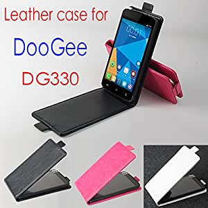 DOOGEE DG330 Case, New High Quality Genuine Filp Leather Cover Case For DOOGEE DG330 case Free Shipping --- Color:White