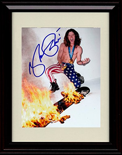 Framed Shaun White Autograph Replica Print - Skate and Snowboard Gold Medal Winner!