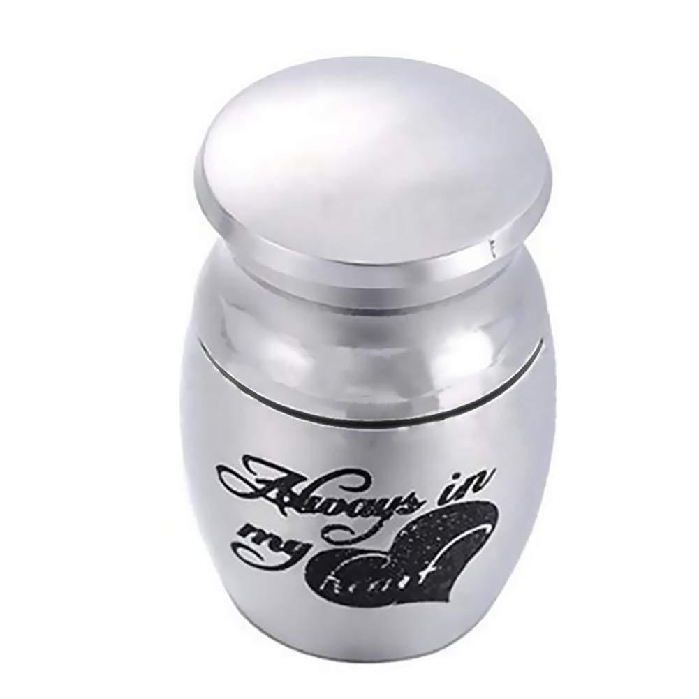 Keep Your Favorite Pets, Dog or Cat Pet Urn Memorial 15×25mm Ashes Keepsake