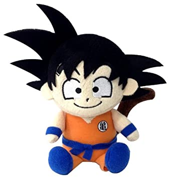 "Bandai DBZ Dragon Ball Kai Mini Plush Doll – 5.5 ""Hijo Goku de Peluche"