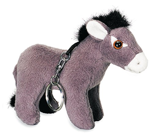Katerina Prestige-Donkey Plush Key Ring-Set of 12, PE0187